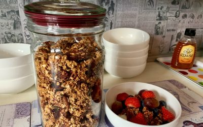 Honey and Pecan Granola